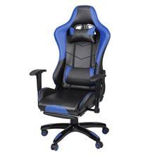Современный игровой стул подъемное игровое кресло с подставкой