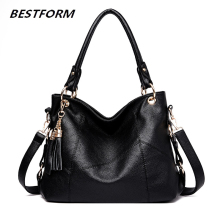 Tassel Women Shoulder Messenger Bag Luxury Leather Handbags Women Bags Designer Famous Brand Female Crossbody Bags Sac A Main luxury handbags women genuine leather bag famous brand women messenger bags designer real leather shoulder crossbody bags female