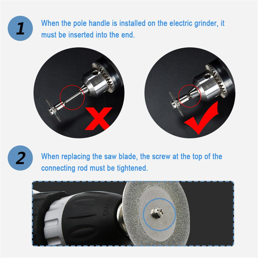 1PACK Diamond Cutting Wheels For Dremel Rotary Tool die grinder metal Cut Off