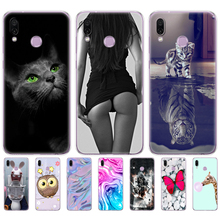 soft silicone case for Huawei Honor Play Case 6.3 soft tpu Back Cover Cases For Huawei Honor Play Coque etui bags bumper