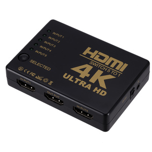 Image 5 - 4K 2K 5x1 HDMI Cable Splitter HD 1080P Video Switcher Adapter 5 Input 1 Output Port HDMI Hub for Xbox PS4 DVD HDTV PC Laptop TV