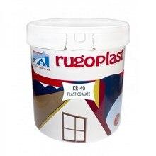 KR40 matte plastic paint can 4 liters