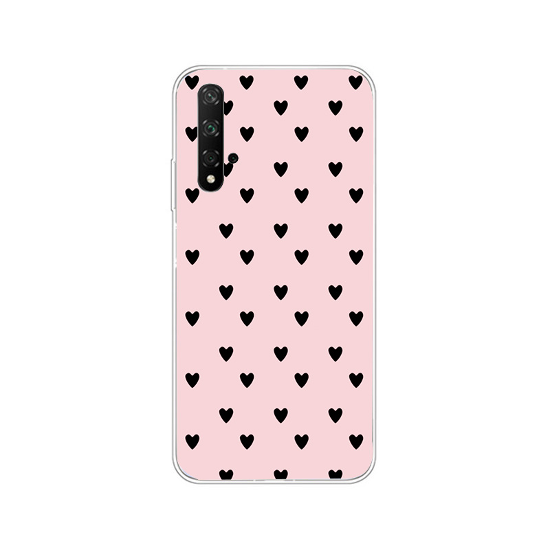 Case For Huawei Nova 5T Cases Clear Soft Cover Cases For Huawei Nova5t 5 T Honor 20 8X P Smart 2019 P40 P30 Lite Pro Case Fundas