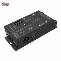 5-24VDC DMX512 zu SPI Konverter DSA DMX SPI signal Decoder Controller Für 2811,WS2812,LPD6803,TM1812 fahren IC für Pixel licht