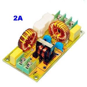 Image 2 - Lusya 2A 4A 15A 25A EMI filtr zakłóceń elektromagnetycznych moduł zasilanie prądem zmiennym filtr T1186