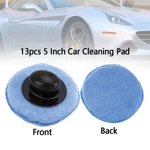 13pcs 5 polegada flexivel cor aleatoria roda almofada de limpeza depilacao ferramenta de polimento rodada