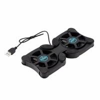 2 USB Port Mini Octopus Laptop Lüfter Kühler Cooling Pad Folding Coller Fan Cooling Pad Großhandel Shop