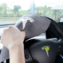 Car Towel Microfiber Wash Cloth for Tesla Model 3 S X Y  Cleaning Door Window Care Strong Water Absorbent Coral Fleece Suede