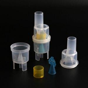 Image 1 - 10ml nebulizador medicina garrafa casa equipamentos médicos copo atomizado compressor de ar alergia inalador aerossol medicação spray copo