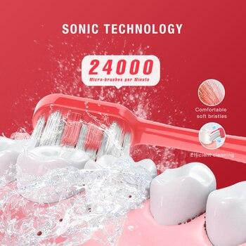 Электрическая зубная щетка SEAGO Sonic SG549 3