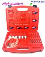 Diesel Common Rail Injector Flow Meter Met 24 Adapters Brandstof Lijn Test Tester/Diagnose Tool Set 6 Injectoren Getest samen