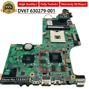 630279-001 631044-001 615279-001 for HP DV6 DV6-3000 DV6T Laptop Motherboard DA0LX6MB6F1 DA0LX6MB6H1 DA0LX6MB6G2 mainboard