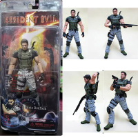 Figure NECA Character Chris Redfield PVC Action Figure Collectible Model Toys