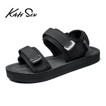 KATESEN Summer Gladiator Men Sandals New Breathable Shoes Outdoor Beach Fashion Brand Casual