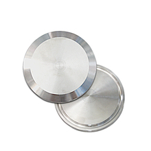 3 OD 76mm Sanitary Blind Disk Flange End Caps fits 3 Tri Clamp Block Pipe Fittings SS304 76mm 3 pipe od butt welding u shaped return bend 3 way sus 304 stainless sanitary fitting spliter homebrew beer