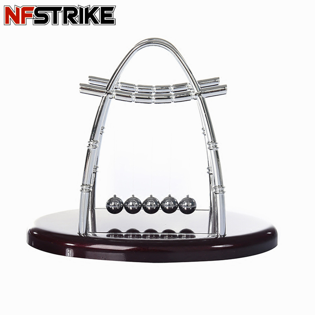 NFSTRIKE Stress Reliever Toys For Office Fidget Roller Newton Cradle Balance Ball Science Puzzle Fun Desk Decompression Toy New