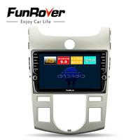 Funrover android 9.0 octa core car dvd multimedia player For Kia Forte Cerato Koup 2008 2012 radio gps navigation 4G+64G DSP LTE