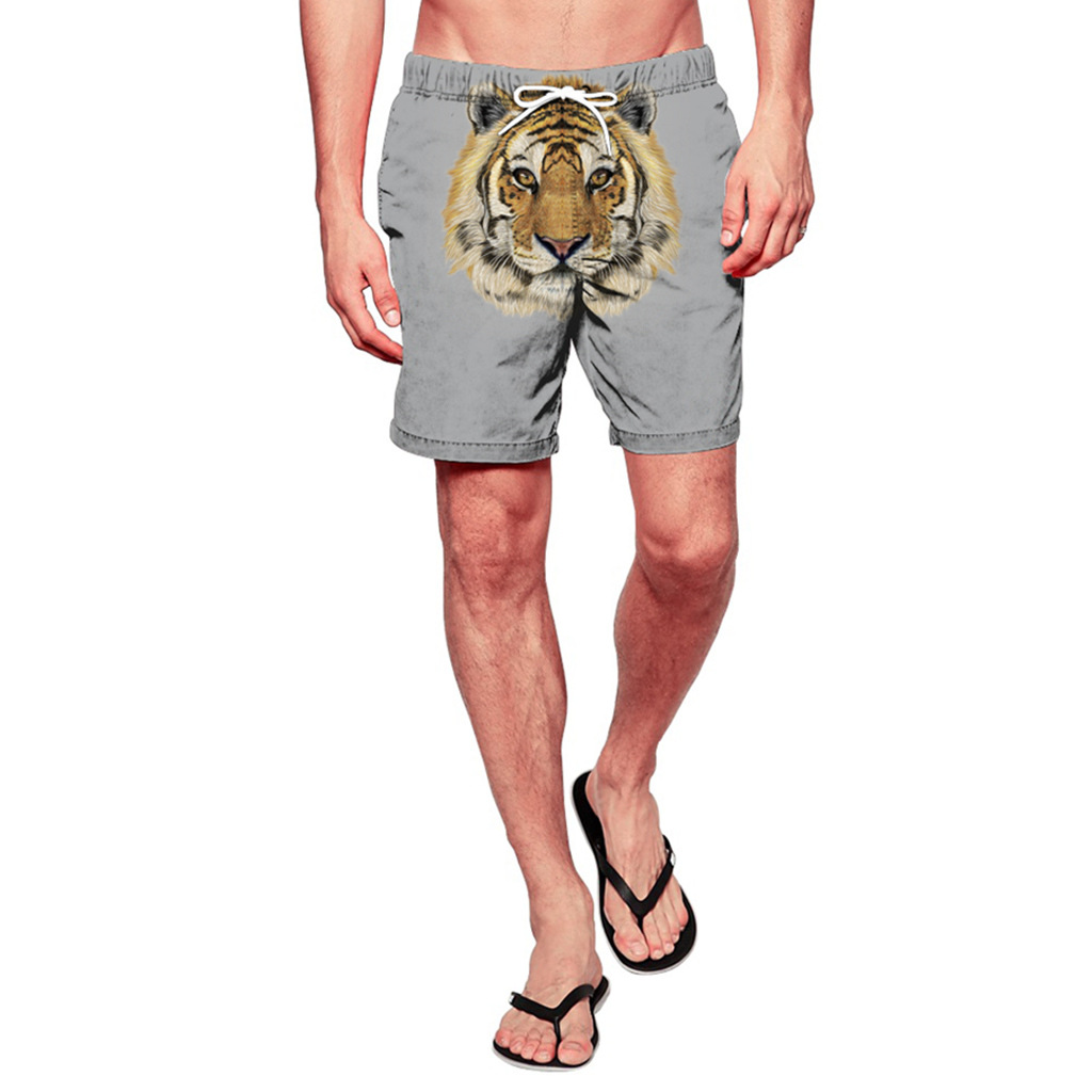 Casual Summer Holiday Shorts MEN'S Beach Pants Outdoor Sports Loose-Fit Shorts Large Size