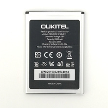 2PCS NEW Original 2000mAh C10 battery  for Oukitel High Quality Battery+Tracking Number