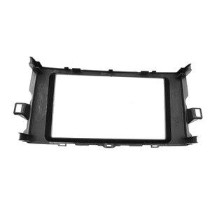Image 2 - Double Din Fascia Stereo Plate Car Radio Surround Panel For TOYOTA Auris 2006 2012 DVD Player Refitting Frame Dash Bezel Fascias
