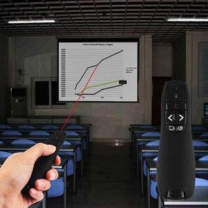 Image 5 - 2.4 2.4ghz の Usb ワイヤレスプレゼンターポインタスライド電力点クリッカーリモートコントロールレーザーペン Ppt プレゼンテーションリモコン