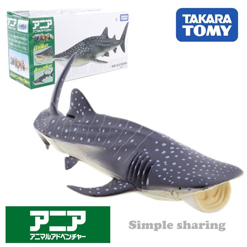 Takara Tomy Ania AL-5 Whale Shark Figure