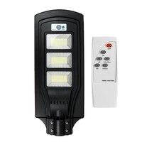 Réverbère solaire de 150W 450LED avec la lampe de mur extérieure de capteur de mouvement de PIR à distance|Pelouse Lampes| |  -