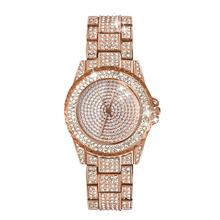 Luxury Rhinestone Watch Women Watches Fashion Laides Watch Rose Gold Color Wrist Watches Clock Reloj Mujer Relogio Feminino