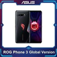Asus rog telefone 3 versão global 5g smartphone snapdragon865plus 8ram128rom 6000mah ota atualização android q gaming telefone rog 3