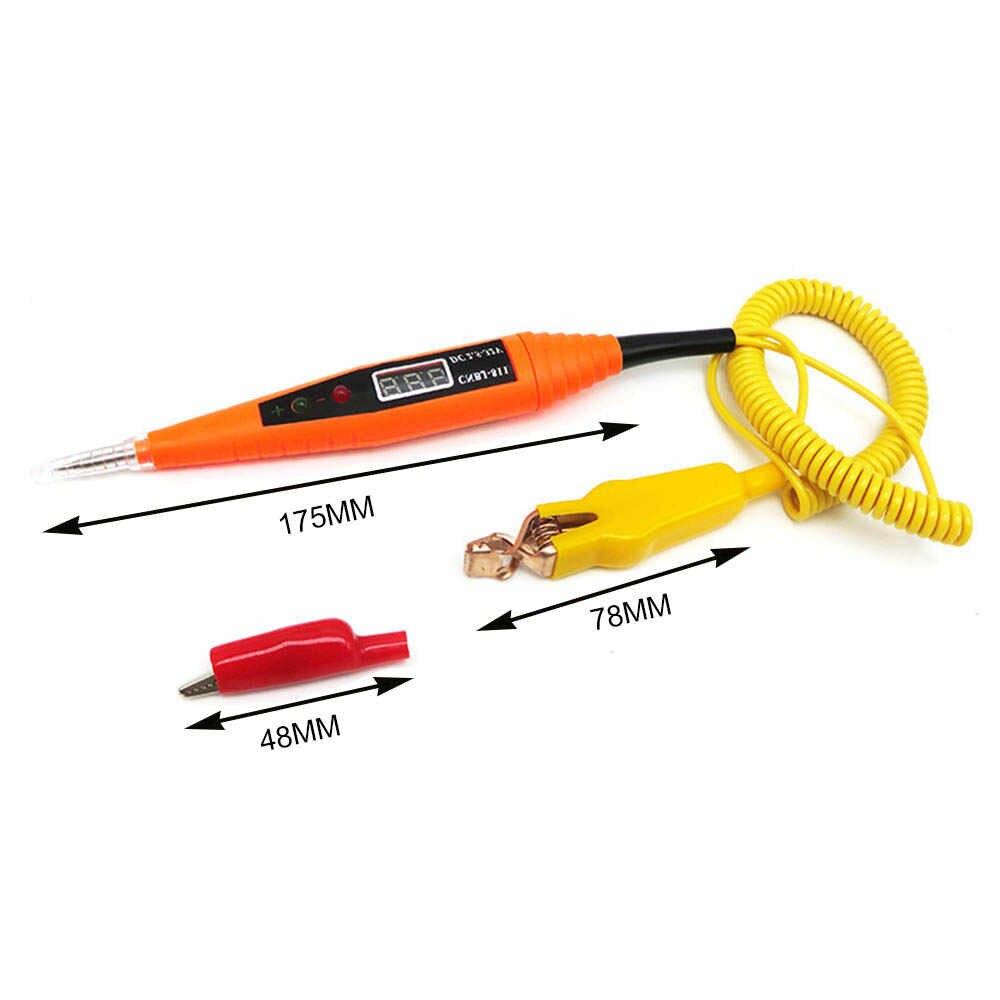 3B80 Circuit Tester Voltage Pen Car Voltage Pen LED Light Systems Auto