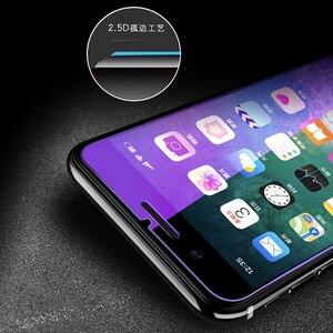 Image 4 - Chống Thủy Tinh Màu Xanh Trên Iphone 7 6S 5 5S Se 5C Đèn Tia Kính Cường Lực Dành Cho iPhone 7 8 Plus Cho Iphone X XS XR XS MAX Kính Màn Hình