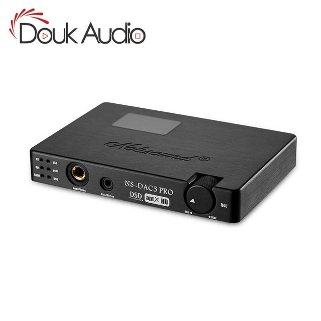 Douk audioMini ES9038 XMOS Coaxial Optical CSR8675 Bluetooth5.0 APTX HD USB Dop DAC Headphone Amplifier Digital Analog Converter
