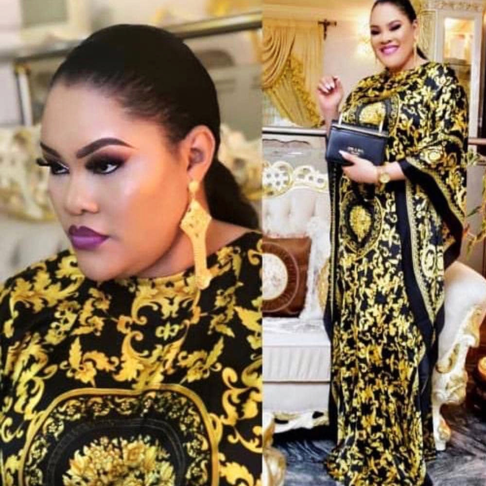 Women Vintage Yellow Dress Spring Summer Long Batwing Sleeve Casual Loose African Print Ladies Oversize Party Maxi Dashiki Dress