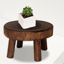 Plant-Stand Base-Stool Trays Flower-Holder Wooden Outdoor for M/s-Sizes