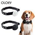 Collar para perro con rastreador GPS, localizador inteligente de localización antipérdida, GPS resistente al agua, alarma, Collar para perro, equipo para perro mascota