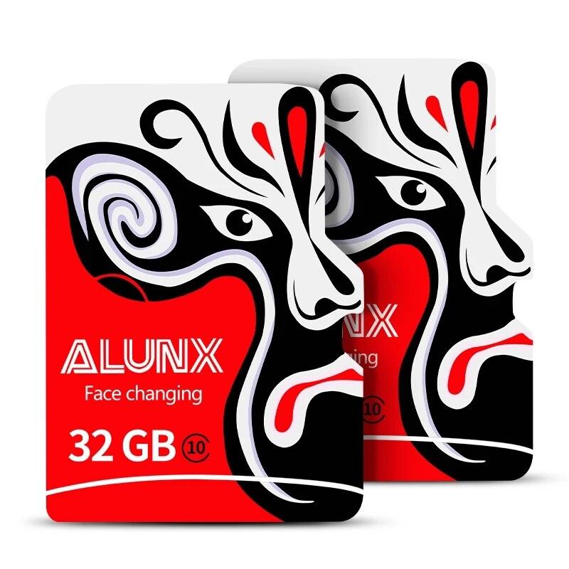 ALUNX класс 10-U1 Microsd высокоскоростная флеш-карта памяти Micro SD TF-карта 64 Гб 128 ГБ 256 ГБ 8 ГБ 16 ГБ 32 ГБ для адаптера смартфона