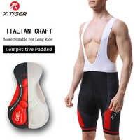 X-TIGER 8 Colors Cycling Bib Shorts Summer Coolmax 5D Gel Pad Bike Tights MTB Ropa Ciclismo Moisture Wicking Bicycle Pants