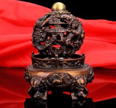 Pur cuivre Feng Shui ornements décorations pour la maison en laiton salon étude artisanat cadeau