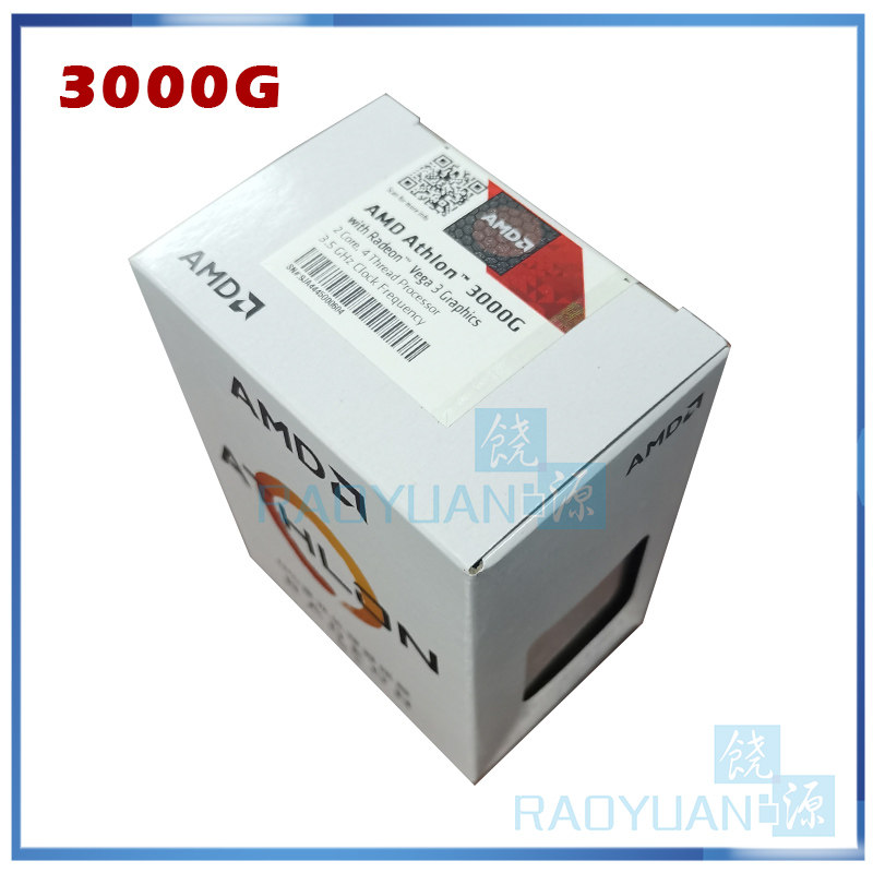 Amd Athlon 3000g X2 3000g 3 5 Ghz Dual Core Quad Thread Cpu Processor Yd3000c6m2ofh Socket Am4 New And Come With The Cooler Cpus Aliexpress