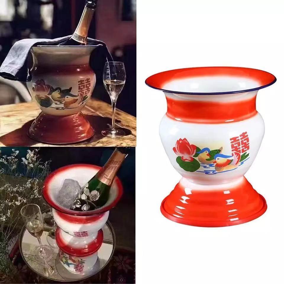 Tapa Tradicional China Para Cesta De Frutas, Recipiente Cuenco, Cesta De Hielo, Florero Del Hogar