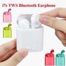 Wysokiej jakości i7s Tws bezprzewodowe słuchawki Bluetooth 5 0 słuchawki czarny biały kolor garnitur dla Samsung iPhone słuchawki tanie tanio Mrs win Zaczep na ucho Technologia hybrydowa CN (pochodzenie) wireless 120±5bBdB 10mW 0Nonem Do Internetu Bar Do Gier Wideo