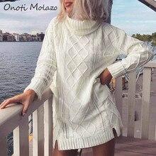 Onoti Molazo Casual Knitted Mini Dress Women Vestidos Fashion Elegant Ladies Knit Short Dresses Female 2020 Spring Autumn New