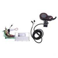 350W Elektrische Fahrrad Bike Roller Controller Lcd Farbe Screen Display Control Panel mit Shift Schalter E Bike Zubehör auf