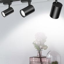 Track-Light Spotlight-Lamp Rail Window-Display-Lighting Fixture-Shop LED 220V Aluminum