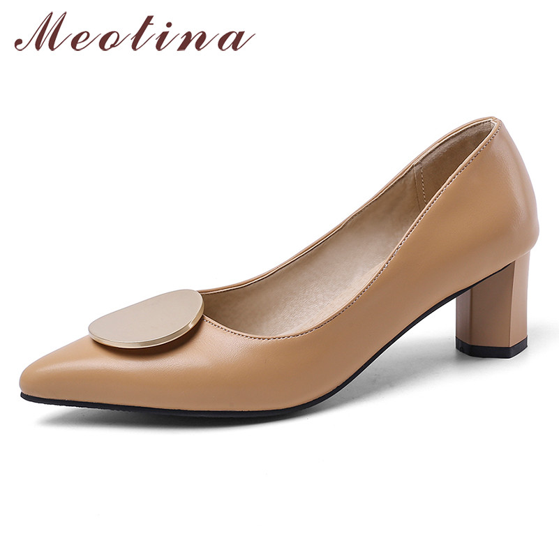 Meotina High Heels Women Pumps Fashion Strange Style High Heels Party Shoes Shallow Pointed Toe Shoes Female New Plus Size 33-46