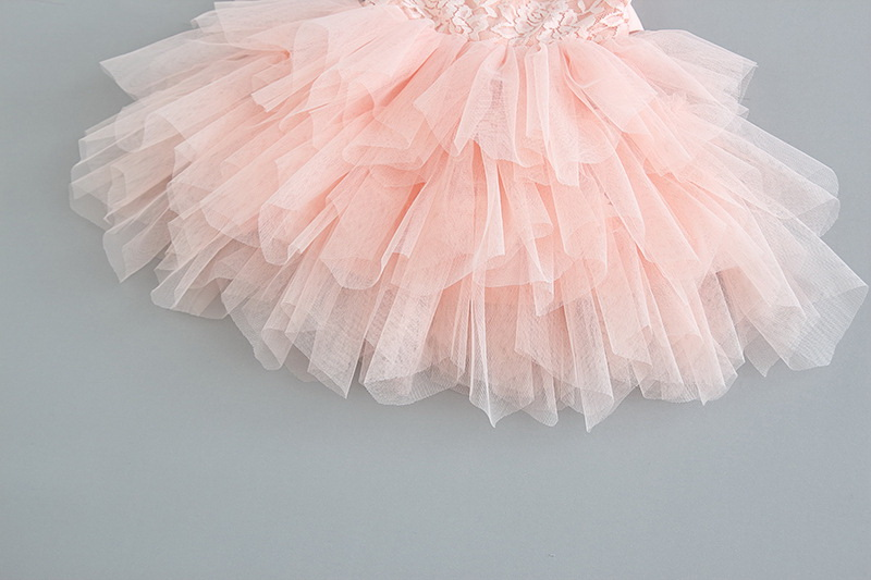 119-10-Lace Tulle Girls Dress