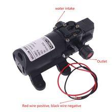 Мембранный самовсасывающий насос высокого давления, Умный клапан, 12 В постоянного тока, 130 фунтов на кв. дюйм, 6 л/мин, 70 Вт