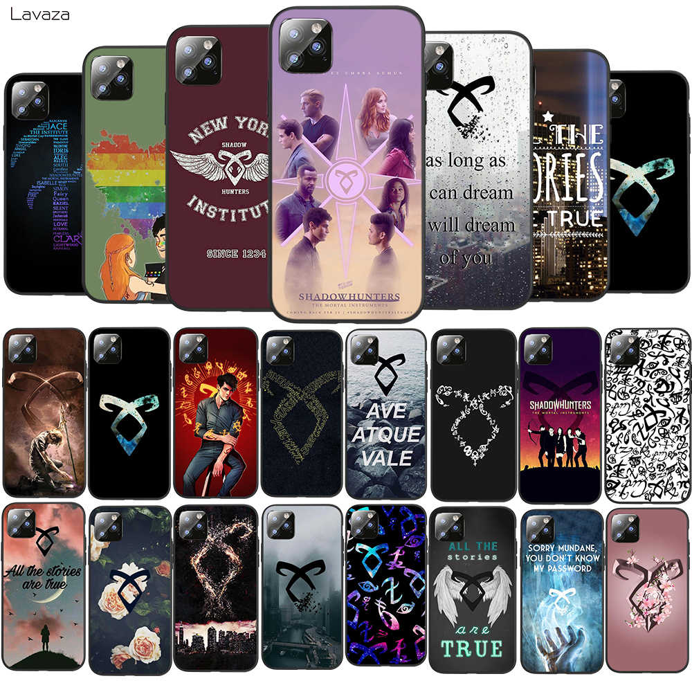 Lavaza shadowhunters TPU Zachte Case voor iPhone 8 7 6 6S Plus 5 5S SE X XS 11 pro Max XR Coque Shell Gevallen