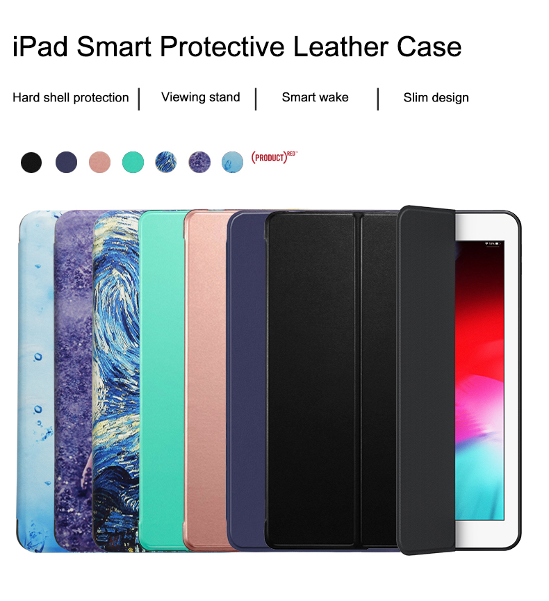 Case Cover Air Smart Auto Trifold 2020 For 10.9 Leather PU Stand iPad Wake Flip Full
