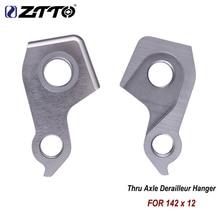 цена на ZTTO Santa Bike Cruz Frame CNC Hanger Nomad v10 Bronson Hightown 5010 Heckler blur LT Dropout 142x12 Thru Axle Derailleur Hanger